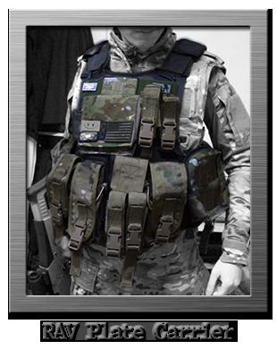 tattico body armor plate carrier rav