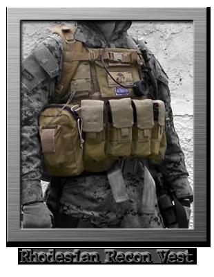 tattico chest rig rhodesian recon vest